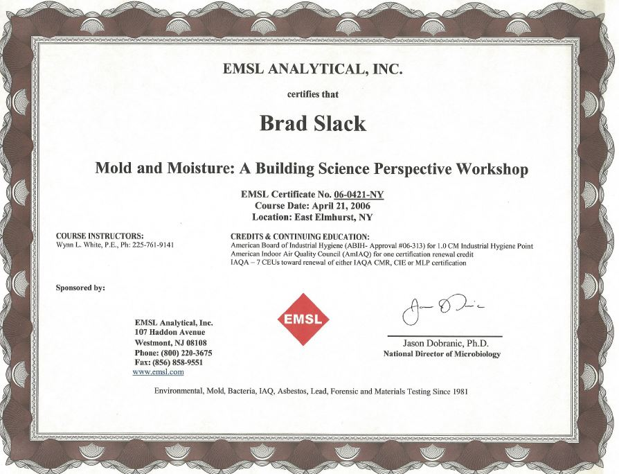 Mold Remediation Online Mold Remediation Certification